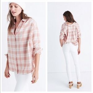 Madewell | 'Central' Long Sleeve Shirt in Danville